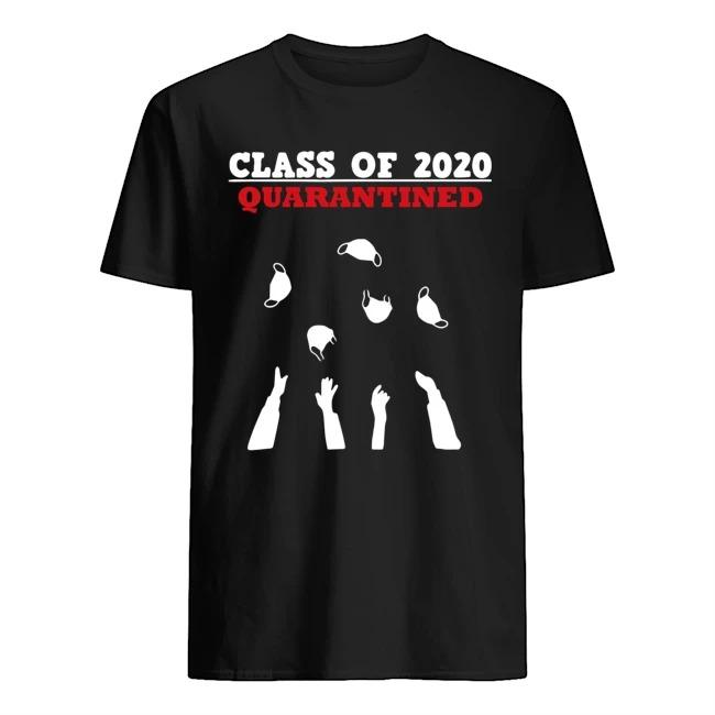Class Of 2020 Funny Senior _ Friends Quarantine Graduation Shirt