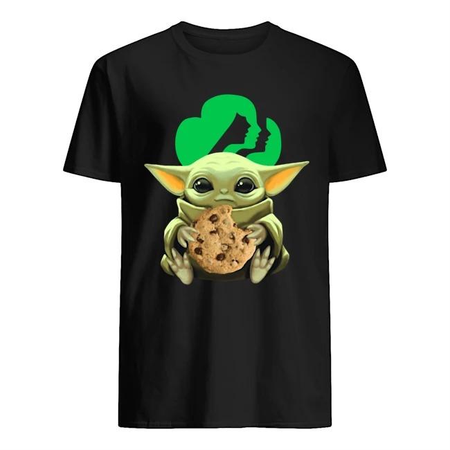 Baby Yoda Hug Cookie Girl Scouts shirt