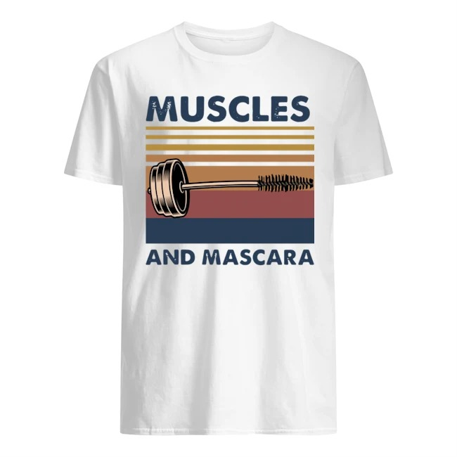 Muscles And Mascara Vintage Shirt
