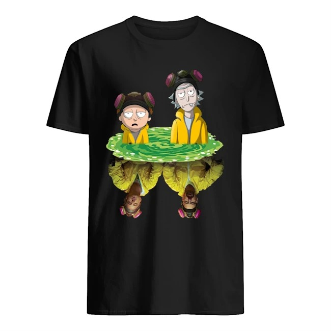 Rick And Morty Walter Jesse Breaking Bad Shirt