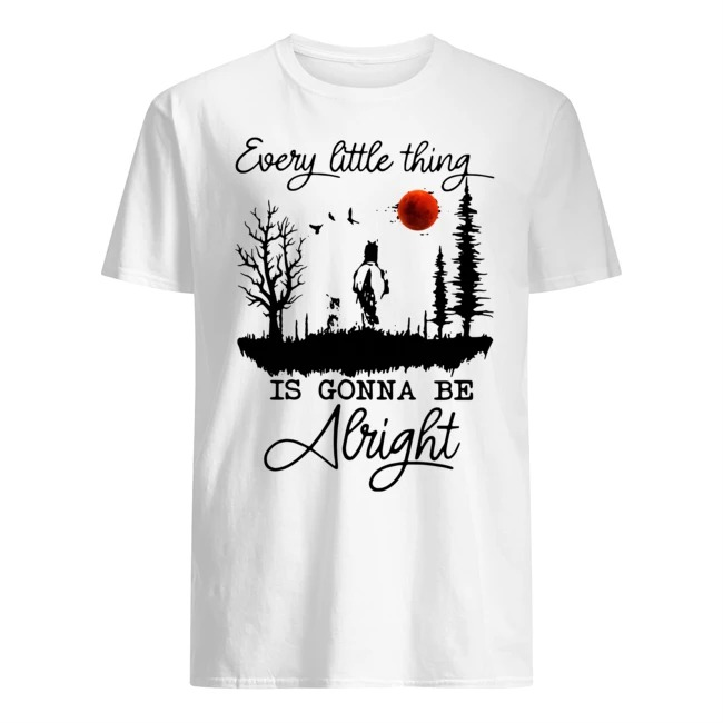 Every Little Thing Is Gonna Be Alright Horse Shirt