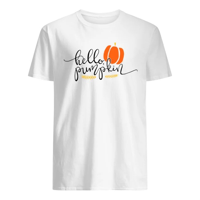 Hello pumpkin Halloween shirt