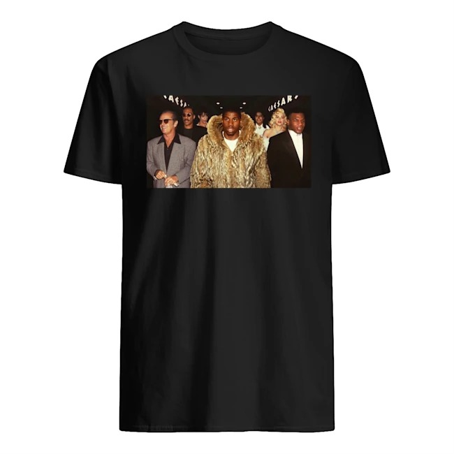 Teddy Riley vs Babyface parody shirt