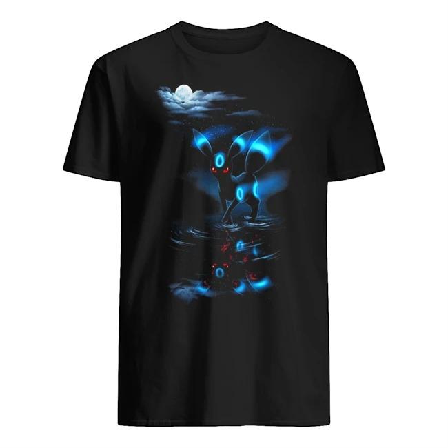 Noctali water reflection moon shirt