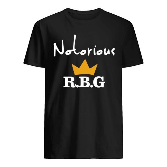 Rip Ruth Bader Ginsburg crown notorious RBG shirt