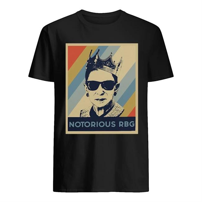 Ruth Bader Ginsburg Notorious RBG crown shirt