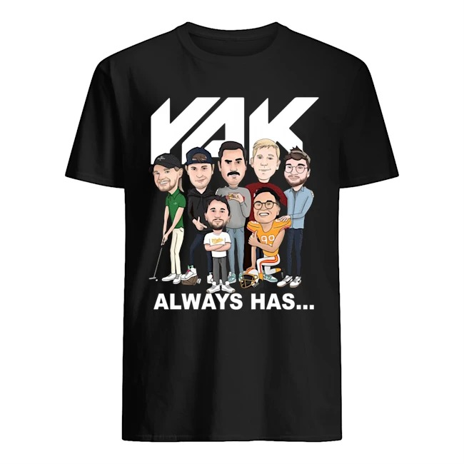 Rak always has 2020 shirt