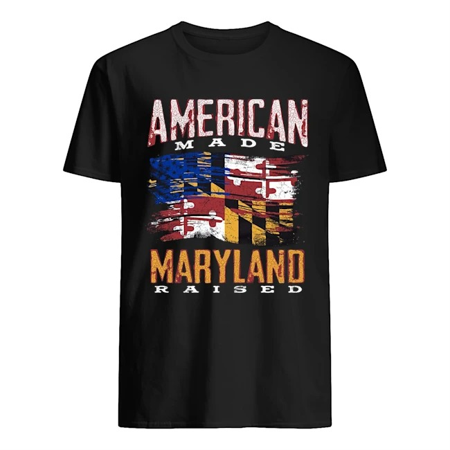 American made maryland raised shirt