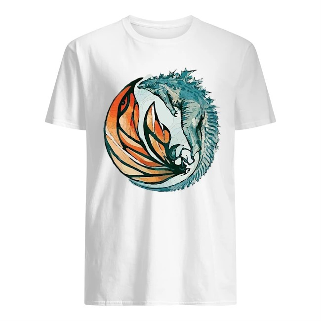 Godzilla and Mothra t-shirt