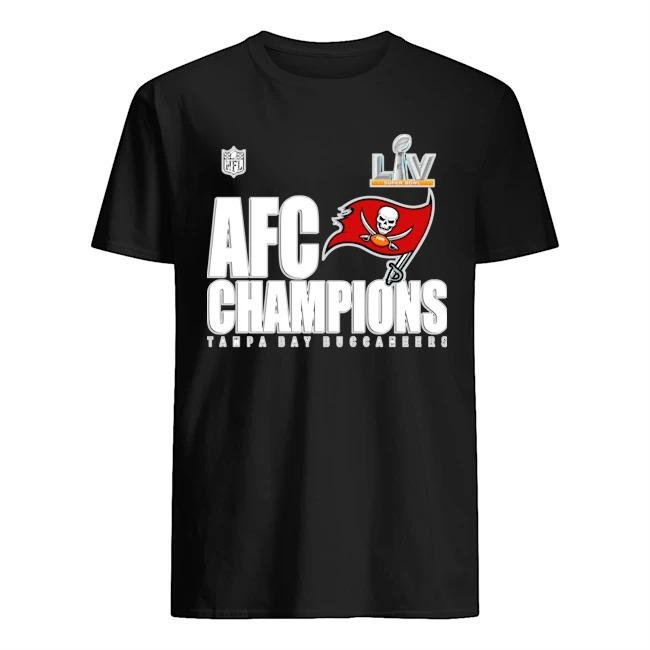Tampa Bay Buccaneers NFL LIVE Super Bowl AFC Champions Shirt