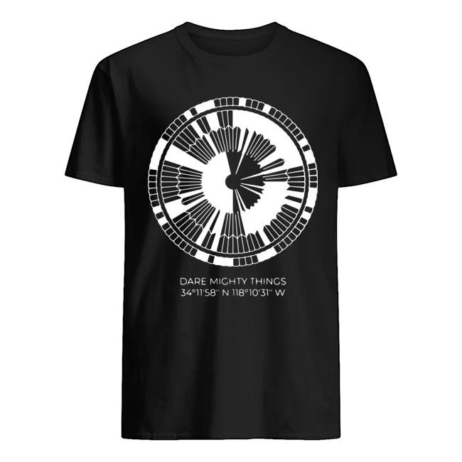 Dare mighty things 34 11 58 tee shirt