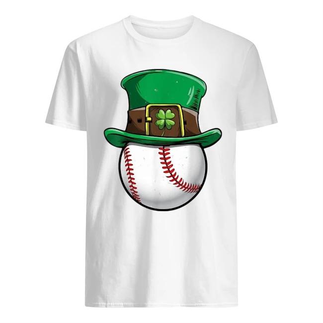 Baseball Irish St Patrick's Day shirt