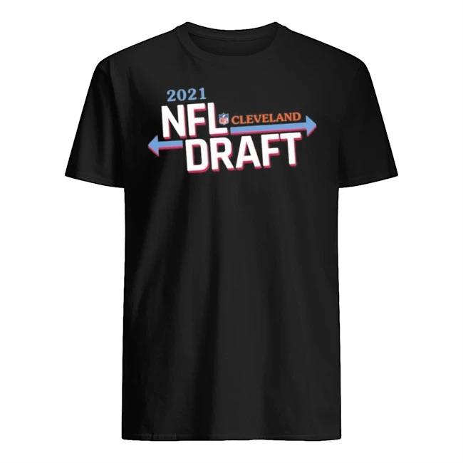 2021 NFL Draft Cleveland Host Football Shirt