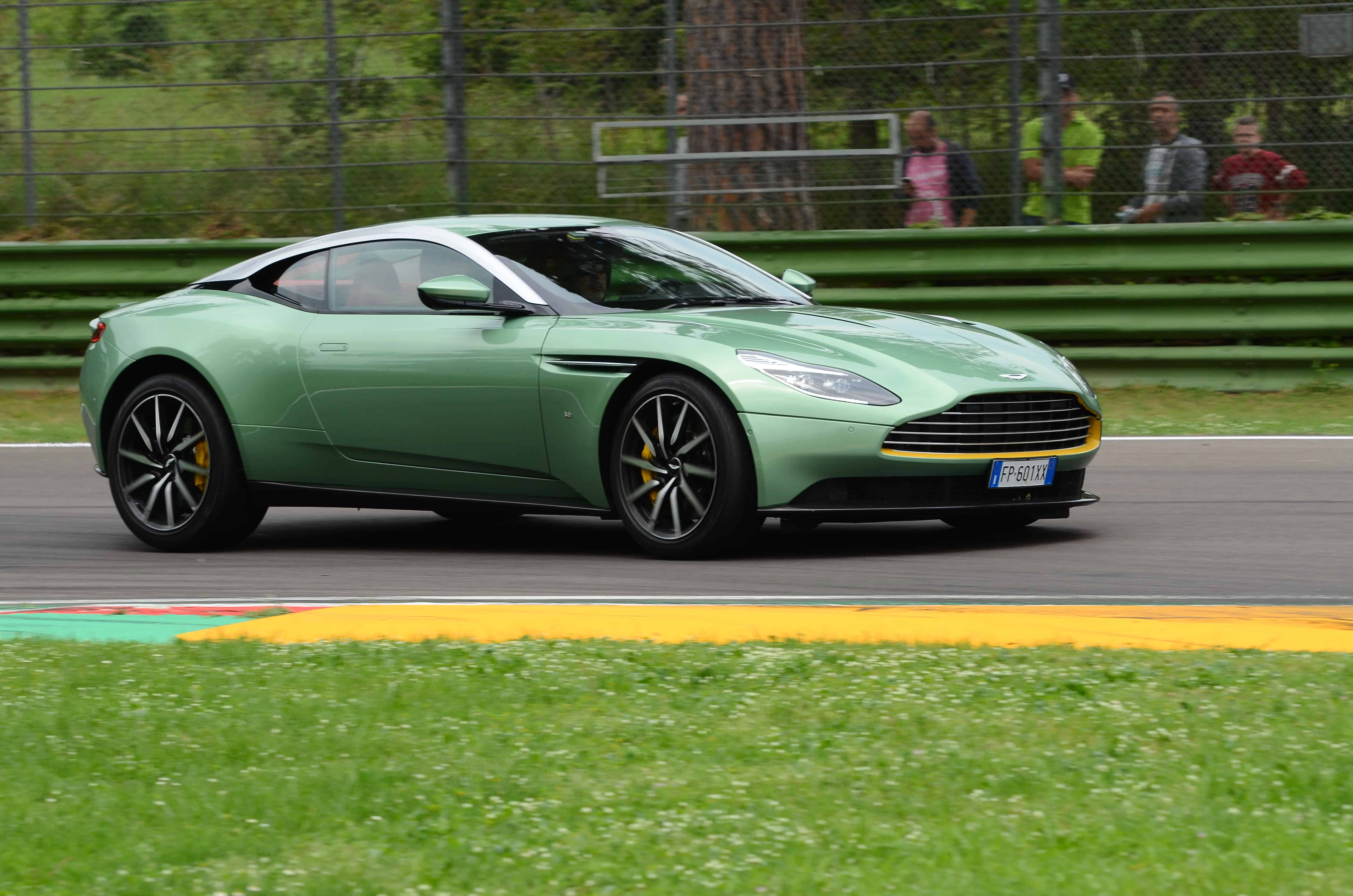 Aston Martin recalls cars with defective steering components