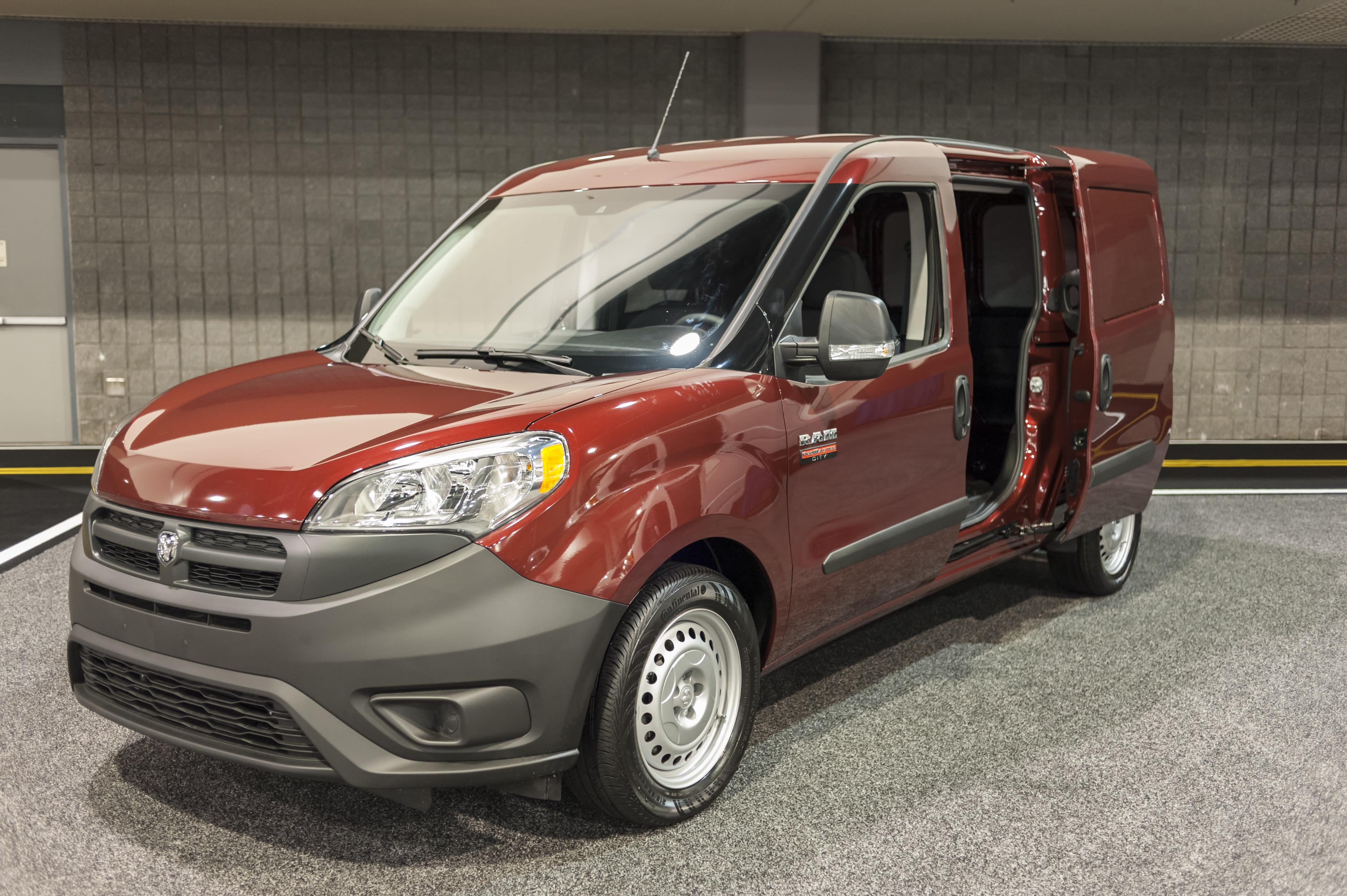 Fiat-Chrysler Recalling Ram ProMaster Delivery Vans