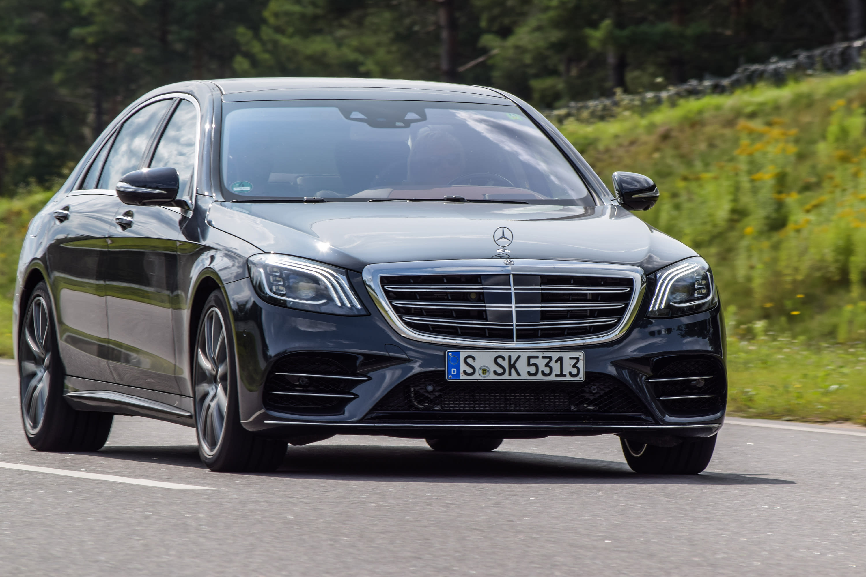 2018 S Class Mercedes May Have Small Brake Systems