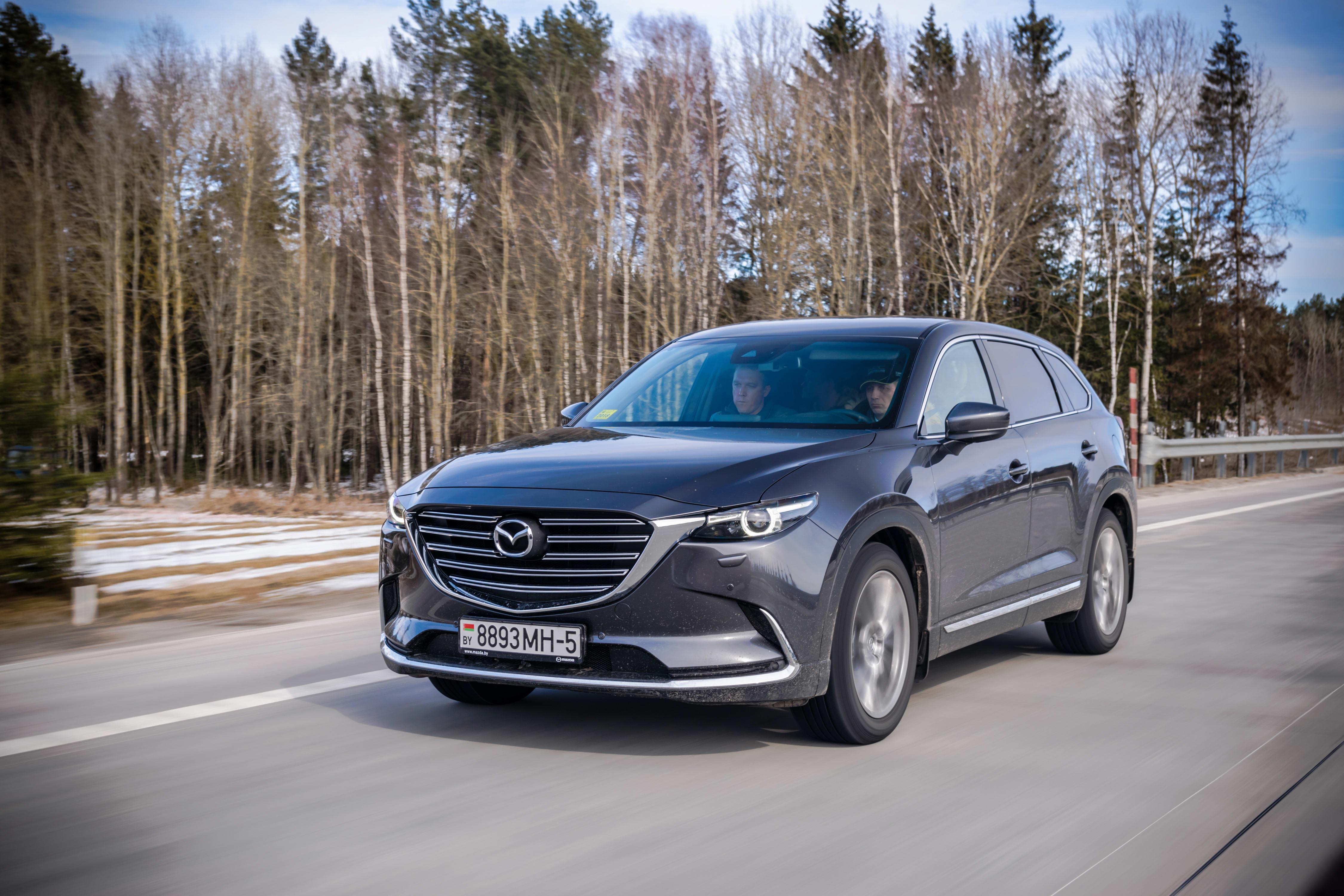 Potential Tread Detachment Spurs Recall on Mazda CX-9s