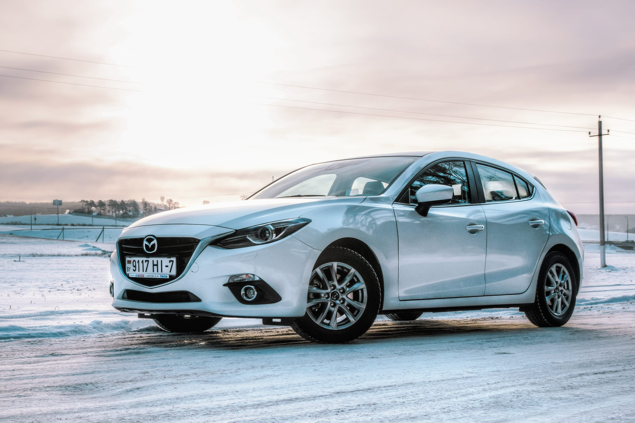 Mazda3s Recalled For Possible Detachment of Rearview Mirrors