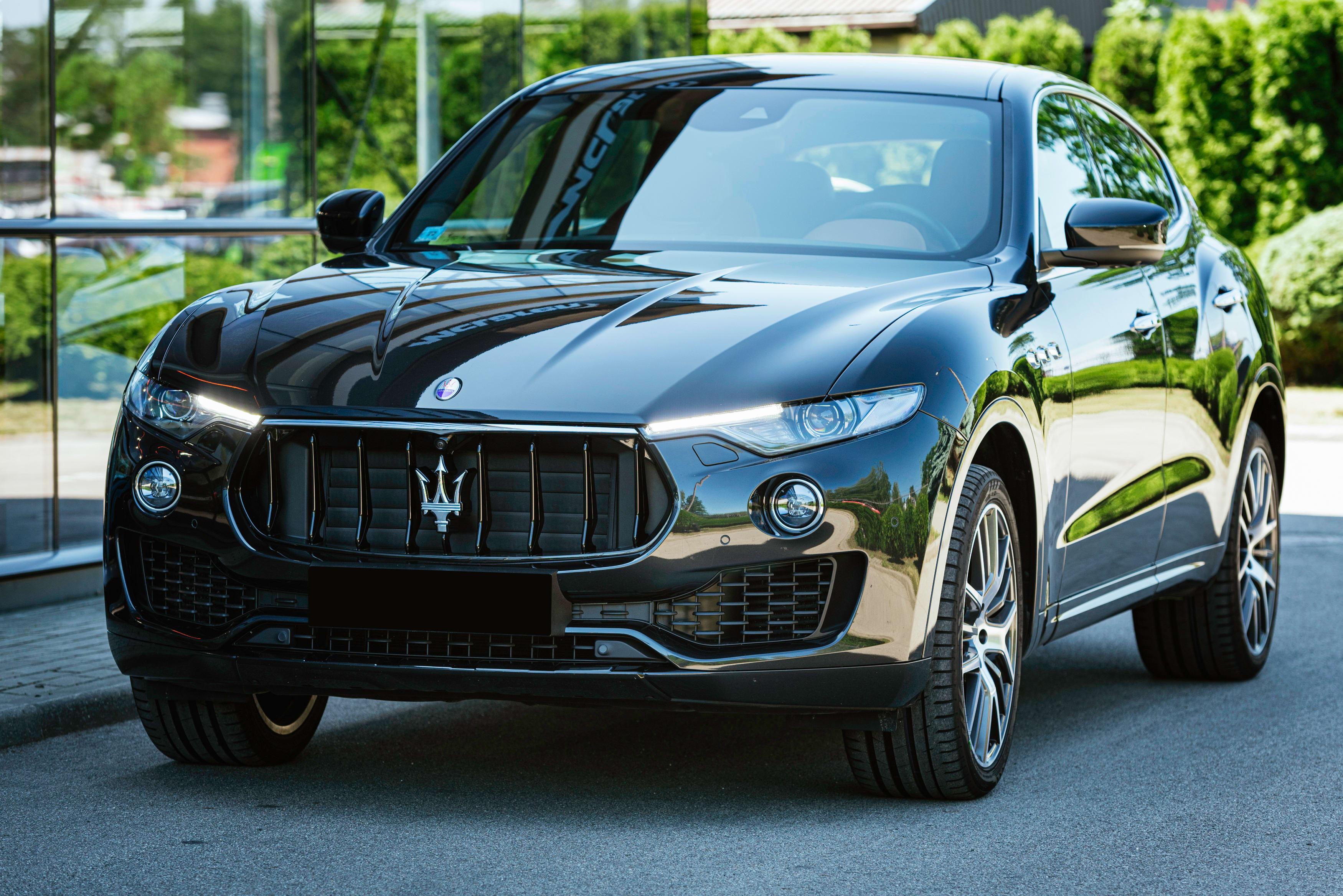 Errant Headlights Triggers Small Scale Maserati Recall