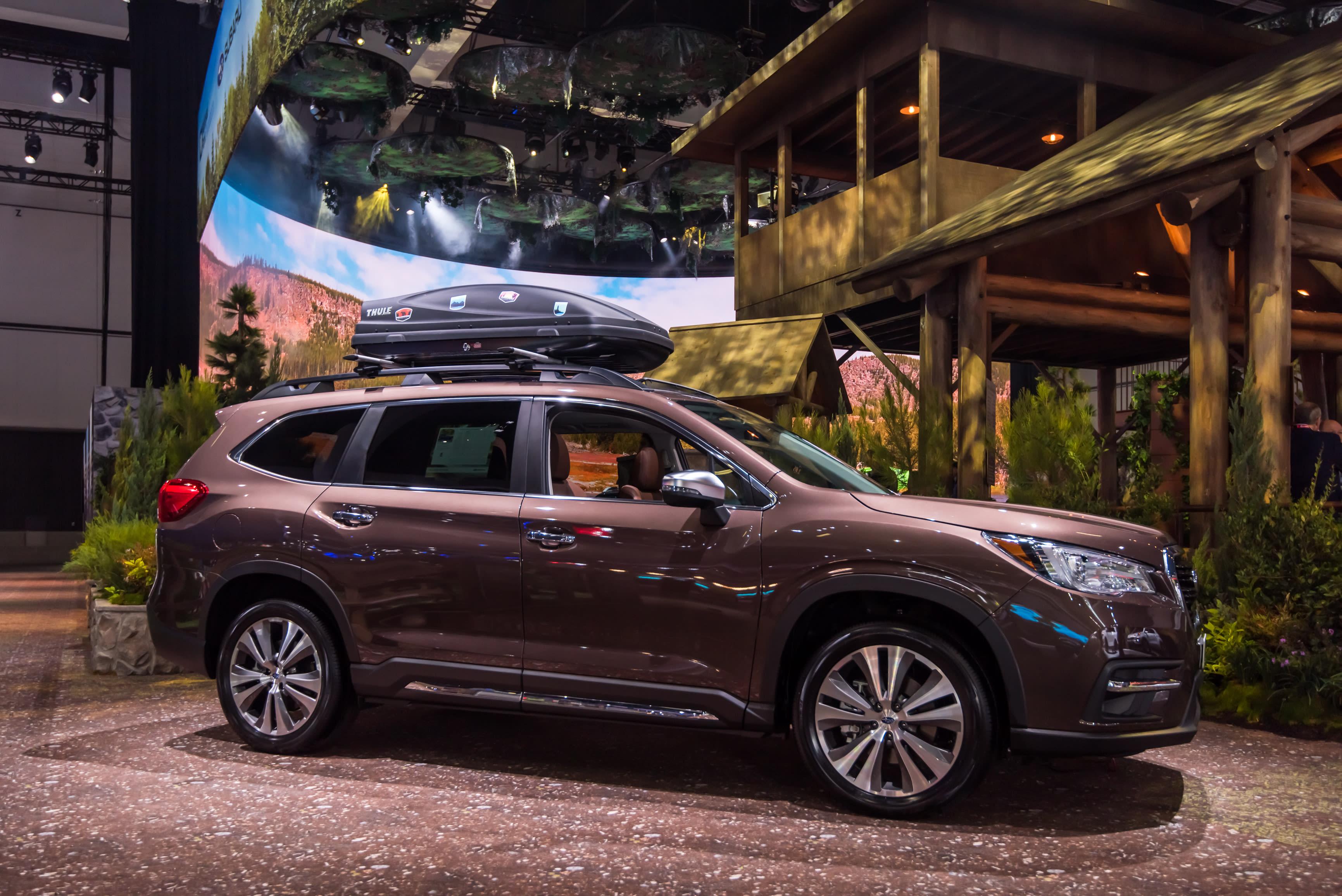 Subaru recalls SUVs with defective driveshafts