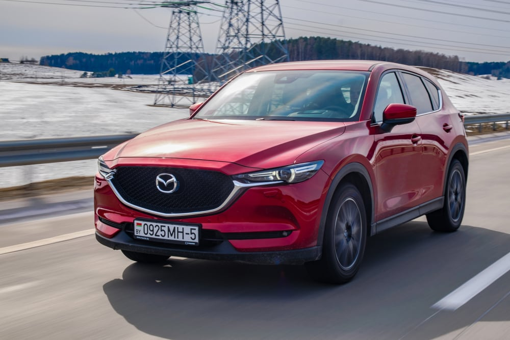 Mazda recalls vehicles with defective air bags