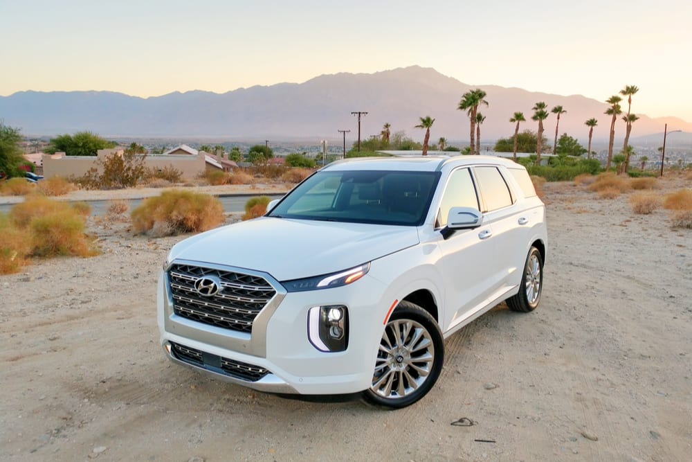 Potential for airbag damage in Hyundai 2020 Palisades prompts recall