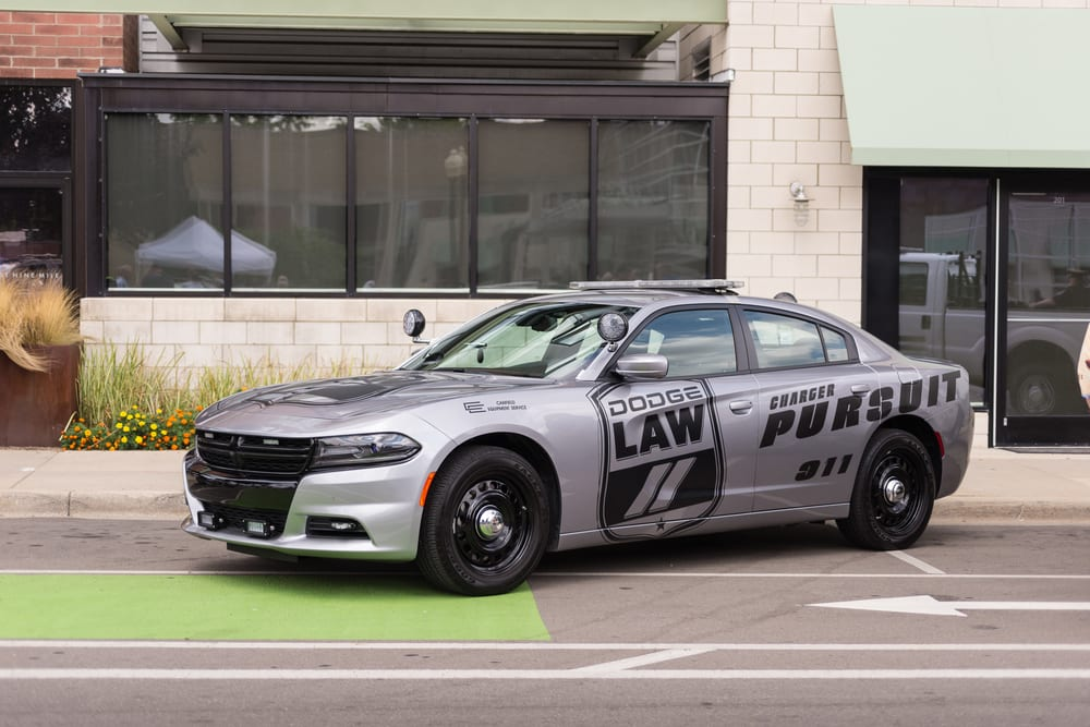 Dodge Charger Pursuit recalled for faulty backup cameras