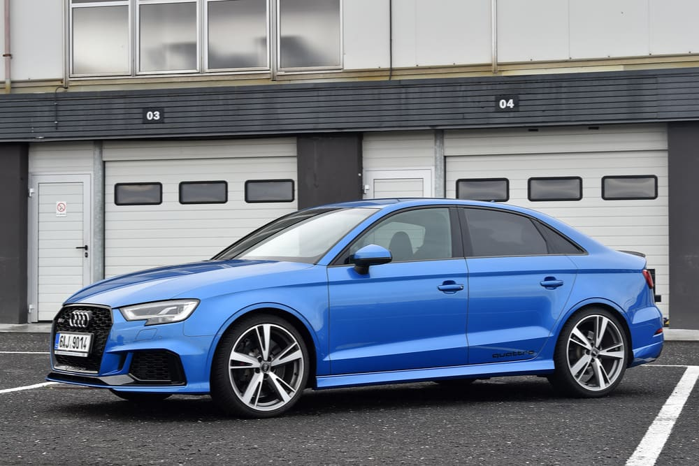 Volkswagen Recalls 2018 Audi A3 And RS3 Vehicles For Rear Seat Head Restraint Issue