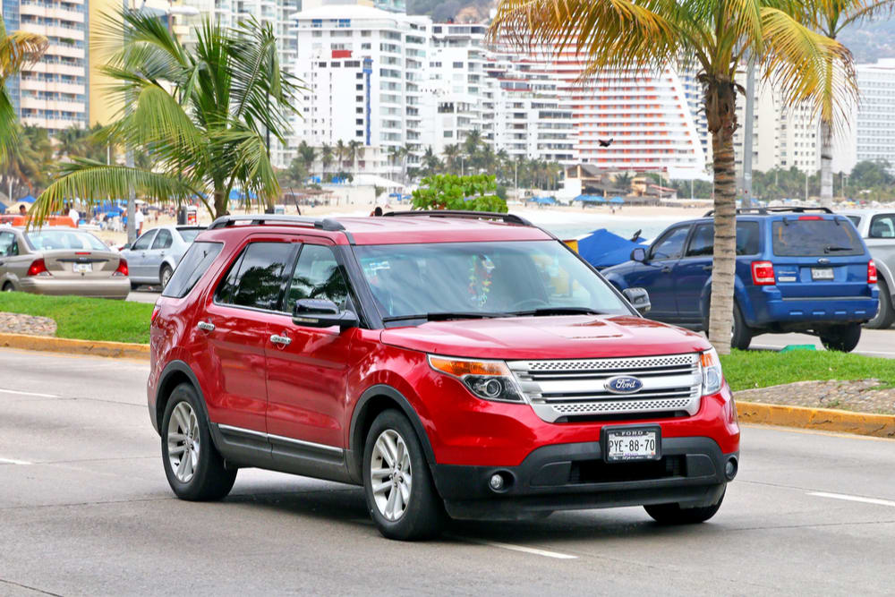 Ford recalls Explorers for third time due to faulty suspension