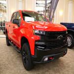 2019-2020 Red Chevrolet Silverado HD