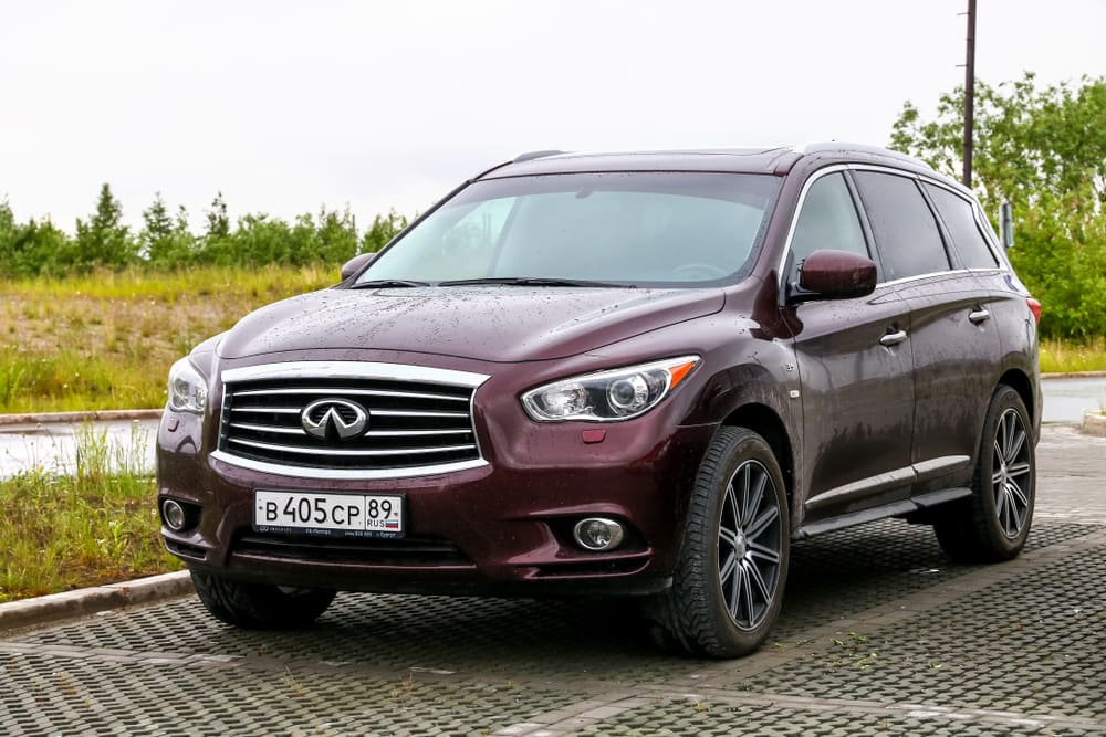 Over 1,600 2019 Infiniti vehicles recalled by Nissan for faulty air bag modules