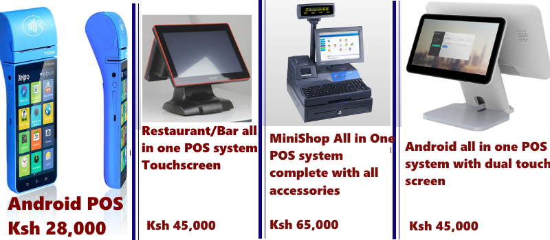 Pos Software Amp Hardware Kenya Point Of Sale Dealers In