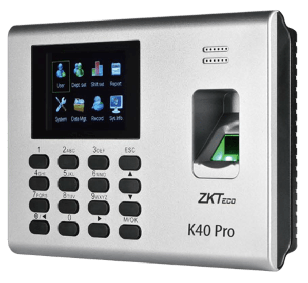 K40 Pro is a 2.8 inch TFT screen Time Attendance & Simple Acccess Control Terminal.