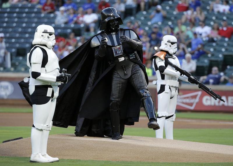 star wars darth vader baseball