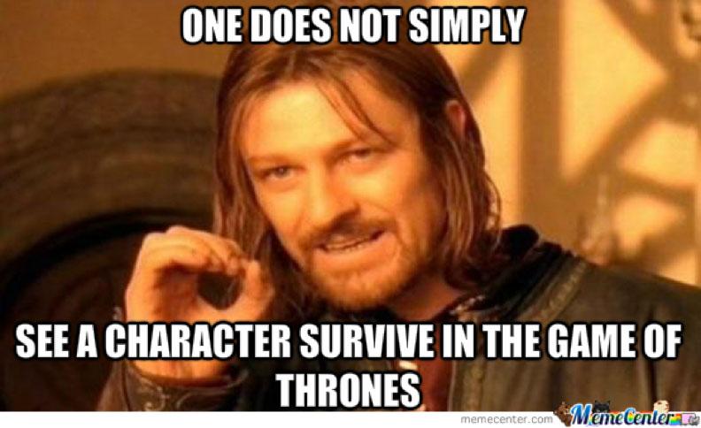 game of thrones ed stark meme