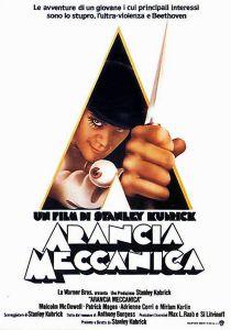"Poster for the movie ""Arancia meccanica"""