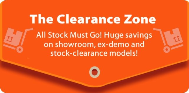 These Clearance Deals won't Last Long!