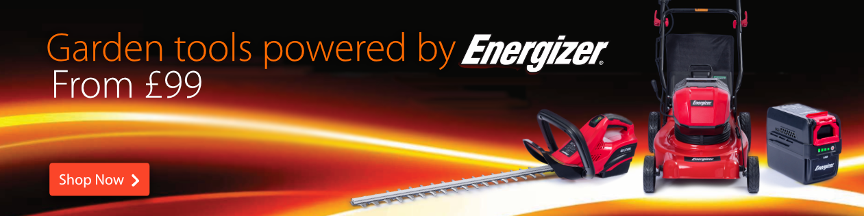 Cordless Garden Tools by Energizer