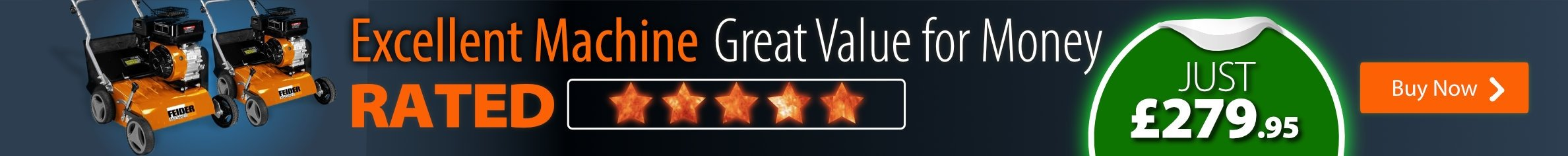 Rated Five Stars by Our Customers - Excellent Machine - 279.95