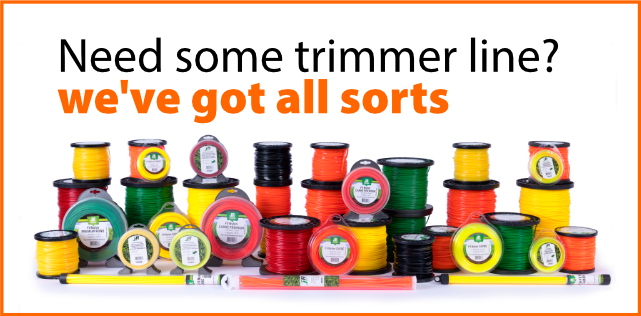 Need replacement trimmer line? We've got all sorts!