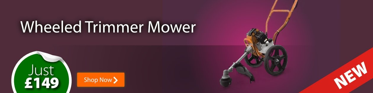New! Wheeled Trimmer Mower - Special Offer Just £149