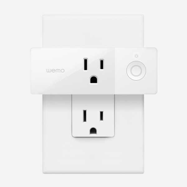 link to WeMo Mini Smart Outlet