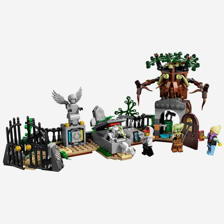 Lego Hidden Side Graveyard Mystery