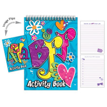 BFF Book of Lists Activity Book
