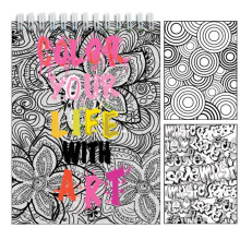 Color Your Life with Art Activity Book