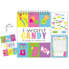 I Want Candy Activity Book