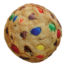 Candy Chip Cookie Microbead Pillow - Chocolate Chip Scented