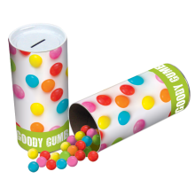 Goody Goody Gumballs Bank with Candy