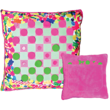 Gummy Bears Checkers Game Pillow