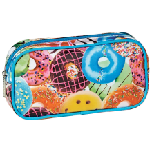 Happy Donuts Cosmetic Bag